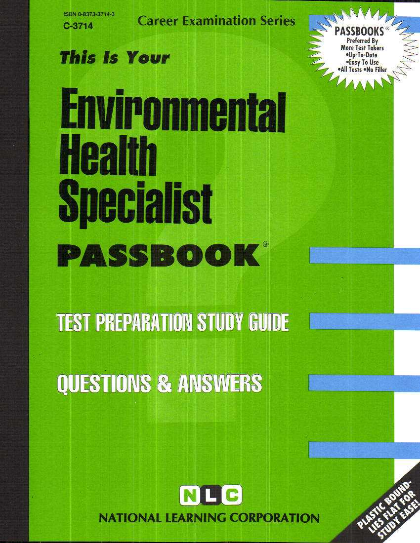 Environmental Health Specialist By Rudman, Jack